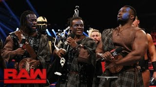 The New Day rallies their Survivor Series team: Raw, Nov. 7, 2016
