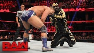 The Golden Truth vs. The Shining Stars: Raw, Nov. 7, 2016