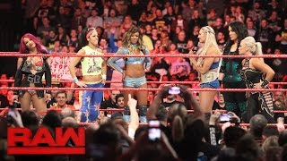 The final members of the Raw Women's team at Survivor Series are revealed: Raw, Nov. 7, 2016