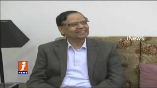 Chandrababu meets Niti Aayog chairman Arvind Panagariya Vijayawada iNews