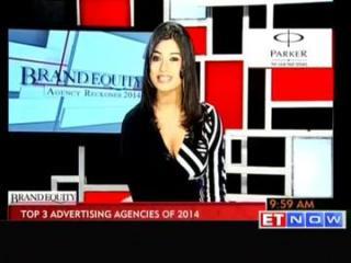 Brand equity: Top 3 advertising agencies of 2014