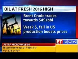 Oil at fresh 2016 high, precious metals rally