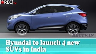 Hyundai to launch 4 new SUVs in India || Latest automobile news updates