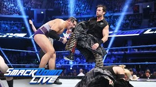 Breezango vs. The Vaudevillains - 10-on-10 Survivor Series Qualifier: SmackDown LIVE, Nov. 8, 2016