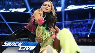 Naomi vs. Natalya: SmackDown LIVE, Nov. 8, 2016