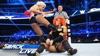 Becky Lynch vs. Alexa Bliss - SmackDown Women's Championship Match: SmackDown LIVE, Nov. 8, 2016
