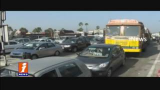 500 and 1000 notes Ban Traffic Jam at Toll Plaza iNews
