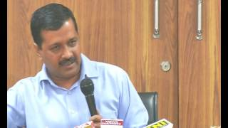 Delhi CM Arvind Kejriwal addresses Media Cancellation of Appointment of Lawyers