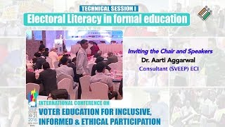 Inviting the Chair and Speakers along with opening remarks by the Chair in Session-1