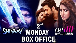 Shivaay V/s Ae Dil Hai Mushkil | 11th Day Box Office Collection - Shivaay Rock Steady