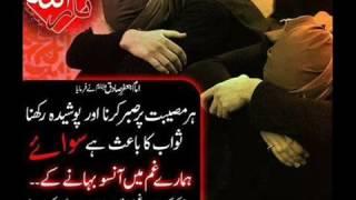 Qaseem Haider Qaseem Ek Bar Karbala Ki Ziyarat Nohay 2016-17 HD