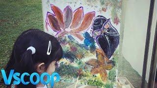 Akshay Kumar's Daughter Nitara Is A Budding Picasso #VSCOOP
