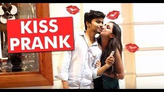 KISSING Prank - FLIP THE BOTTLE (pranks in india 2016)