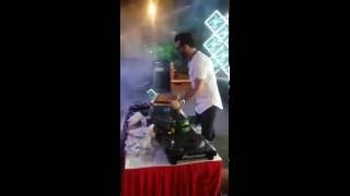 DJ Amit performig with his band (rockstarboyz) in a Corporate event