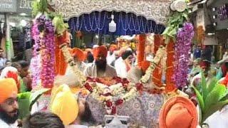 श्री गुरु नानक देव जी के प्रकाशोत्सव पर निकाला गया नगर कीर्तन