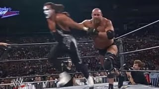 Goldberg and Sting's epic contest from Slamboree: Slamboree 1999