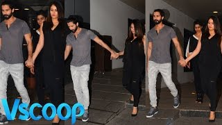 Shahid Kapoor & Mira Out On Ddinner Date | Exclisive Pictures #VSCOOP