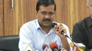 Delhi CM Arvind Kejriwal Briefs Media After the Discussion held in Cabinet Meeting on Demonitization