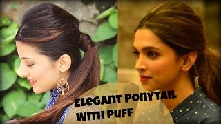 Watch Easy Everyday Elegant Ponytail Hairstyle With Full Video