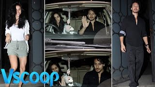 Tiger Shroff & Disha Patani Spotted Romancing On Date #VSCOOP