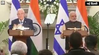 10 MoUs signed between India, Israel