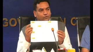 Tourism Minister Kapil Mishra announces the launch of 2nd edition of Delhi Walk Festival.