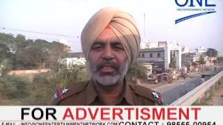 nangal sapror , jalandhar phagwara highway par accident bus car accident tyre blast of car