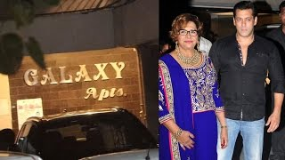 (Video) Salman Khan's Stepmother Helen's BIRTHDAY Bash At Galaxy