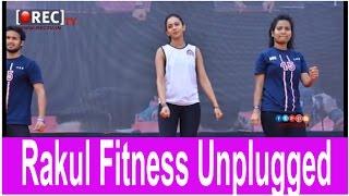 Rakul Preet Singh's Fitness Unplugged Event stills - Latest tollywood photo gallery