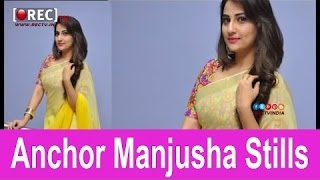 Anchor Manjusha Stills - Latest tollywood photo gallery