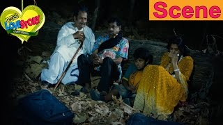 M.S. Narayana And His Family Stuck In Jungle - Full Comedy Scene - Routine Love Story Movie Scenes