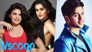 Varun Dhawan Will Romance Jacqueline Fernandez & Taapsee Pannu In 'Judwaa 2' #VSCOOP
