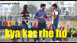 "Awkward ""KYA KAR RAHE HO.."" Prank - Gone Wrong (pranks in India)"