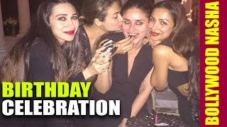 Malaika Arora Khan and Kareena Kapoor At Birthday Party Of Amrita Arora's Husband Shakeel Ladak NASH