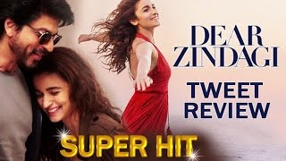 Dear Zindagi TWEET Review - Shahrukh-Alia's BEST PERFORMANCE