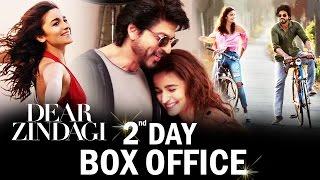 Shahrukh-Alia's Dear Zindagi 2nd Day BOX OFFICE Collection - MASSIVE Growth
