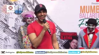 Kartik Aaryan At Mumbai Ballard Estate Festival 2016