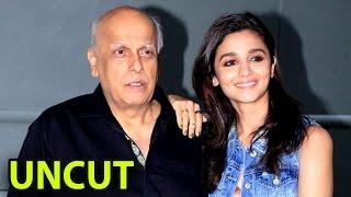 Full Video Mahesh Bhatt at Launch of Title 'Saanvri' Mahesh Bhatt Movies | Mahesh Bhatt Interview