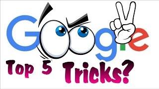 5 Best Tricks Of Google ( Do Fun With Google) 2016