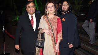 OMG : Mukesh Ambani's Niece Isheta's Star Studded Pre Wedding Party