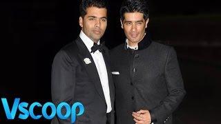 Karan Johar's Golden Gift To BFF Manish Malhotra #Vscoop