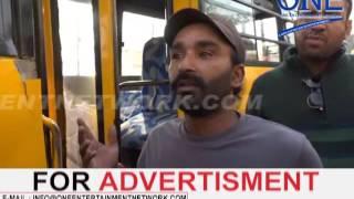 school bus ki manmarzi ke karan accident hoshiarpur tanda road tez raftaar school bus