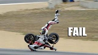 AMAZING FAIL & CRASH COMPILATION OF MOTORCYCLE - BEST EVER COMPILATION