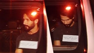 Shahid Kapoor SPOTTED At A Magazine Party