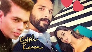 Shahid Kapoor & Mira Rajput SHOOTS For Koffee With Karan 5 - FIRST LOOK