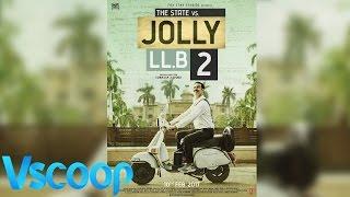 Jolly LLB 2 Akshay Kumar Unveils The Teaser Poster #Vscoop