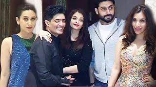 Manish Malhotra's Birthday Bash 2016 - Aishwarya Rai, Abhishek Bachchan, Karisma Kapoor