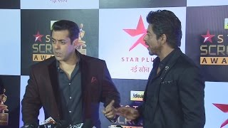 Shahrukh Calls Salman Khan HANDSOME No. 1 - Check Out Salman's Reaction