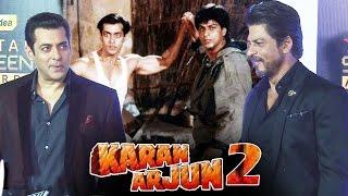 Shahrukh-Salman In KARAN ARJUN 2, Shahrukh-Salman Talk About Their FIGHT In Public
