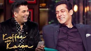 Salman Khan OPENS On His VIRGINITY On Koffee With Karan 5
